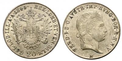 V.Ferdinánd 20 krajcár 1844 M