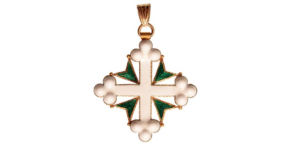 Olasz Szt. Móric és Lázár Rend Lovagkereszt (arany)
