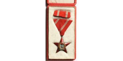 Magyar Népköztársasági Érdemérem bronz fokozata