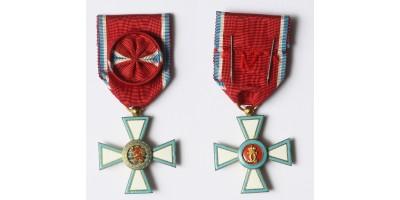 Luxemburg Nagyhercegség Érdemrendjének tisztikeresztje R!