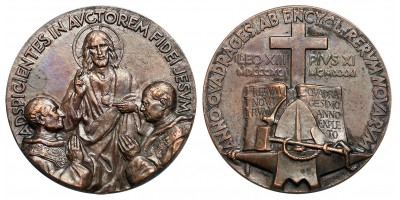 Vatican Pius XI. 40th Anniversary of Rerum Novarum medal 1931