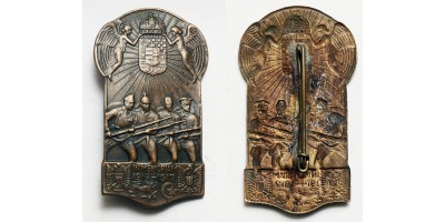 """In memoriam 1914-1917"" propaganda badge"