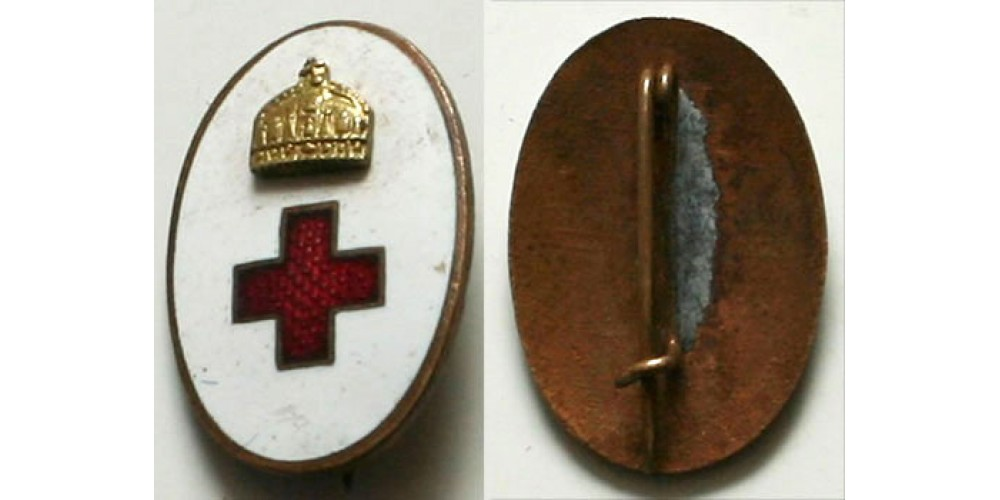 Horthy ápolónő jelvény miniatűr