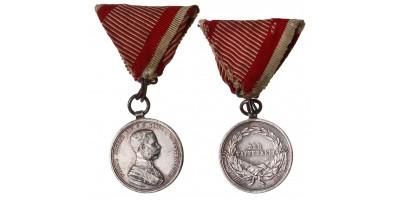 Ferenc József Kisezüst Vitézségi