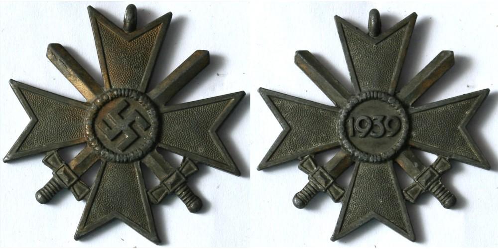 III. Birodalom Háborús Érdemkereszt II. osztálya