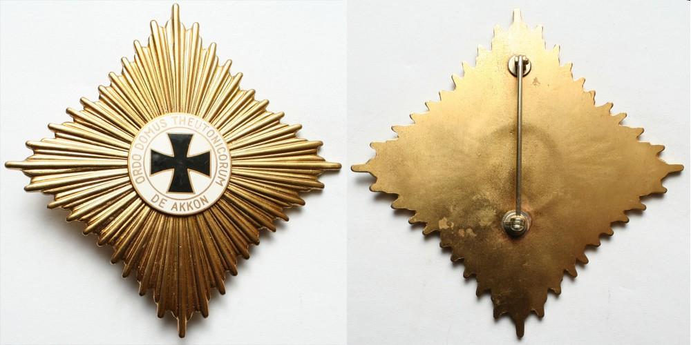 Német Lovagrend - Ordo Domus Theutonicorum de Akkon mellcsillag