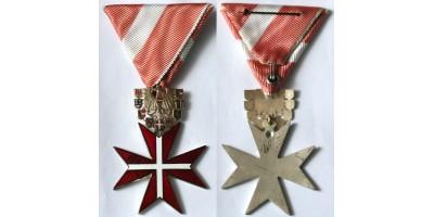 Osztrák Köztársaság Szolgálatáért Ezüst Érdemkereszt