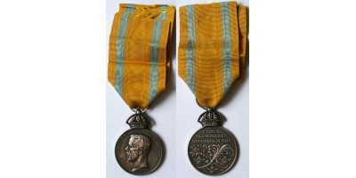 1912 Nyári Olimpia Stockholm Ezüst Szolgálati Érem