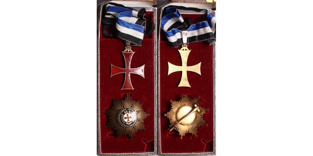 Portugál Tengerész Henrik herceg Rend Nagytiszti szett, dobozában