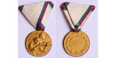 Turul Szövetség Céllövő Versenye díjérem