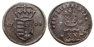 Rákóczi szabadságharc XX poltura 1705 vjn.
