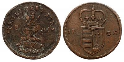 II.Rákóczi Ferenc XX poltura 1705
