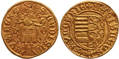 V.László 1440/1453-57 aranyforint h-o ÉH516/f