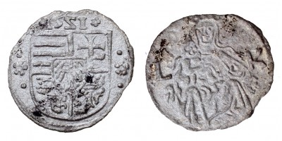 II. Lajos denár 1551 (!) ÉH 675