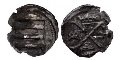 Hunyadi János 1446-53 obulus ÉH 489 R!