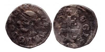 I. Lajos 1342-82 denár ÉH 433