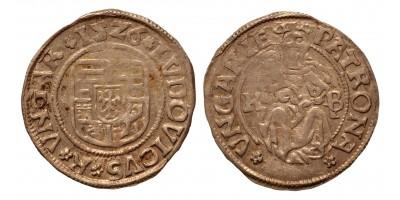II. Lajos denár 1526 K-B, EH 673