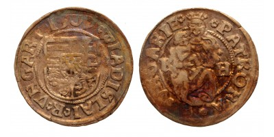 II. Ulászló denár 1507 K-H ÉH 646