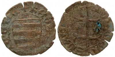 V. László 1453-1457 denár ÉH 523