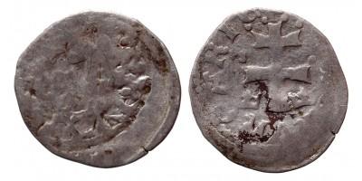 I. Lajos 1342-82 incuse denár ÉH 432
