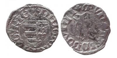 I. Lajos 1342-82 obulus EH 437