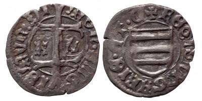 Zsigmond 1387-1437 denár K-L ÉH 450