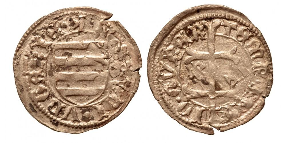 Hunyadi János 1446-53 denár B-?