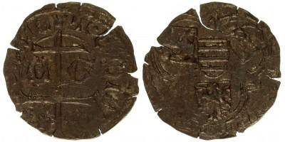 V. László 1453-57 denár ÉH 494