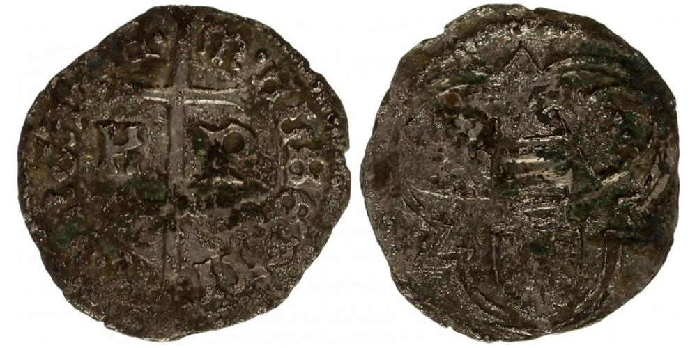 Albert 1437-39 denár K-P ÉH 461