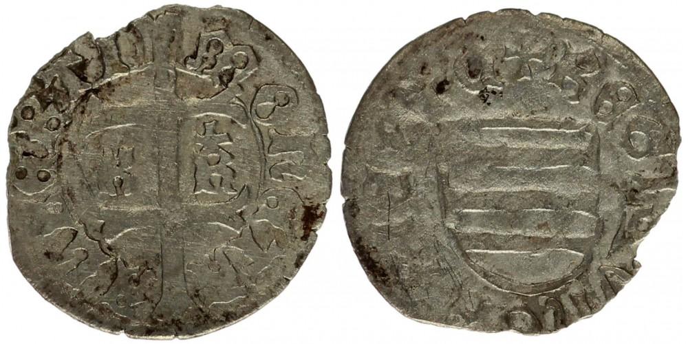 Albert 1437-39 denár ÉH 459