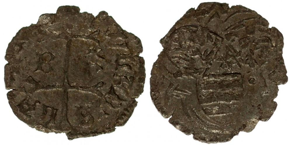 I. Ulászló 1440-44 denár ÉH 469