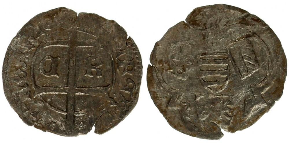 Albert 1437-39 denár C-K Kassa ÉH 461
