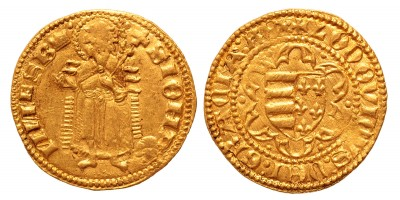 I. Lajos aranyforint 1353-1375