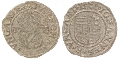 Szapolyai János denár 1528 I-V ÉH 699