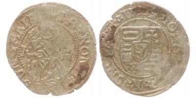 Szapolyai János denár 1529 R-A ÉH 699