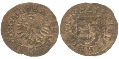 I. Ulászló 1440-44 denár B-n* ÉH 475