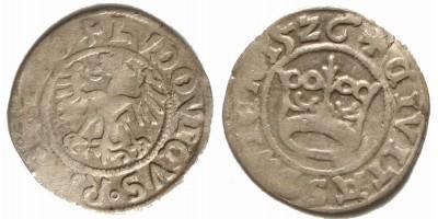 II. Lajos 1/2 garas 1526 Schweidnitz