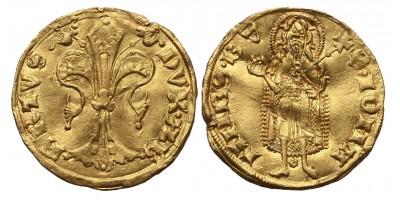 Ausztria II. Albert 1330-58 aranyforint RR!