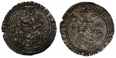 Károly Róbert 1307-42 garas ÉH 355