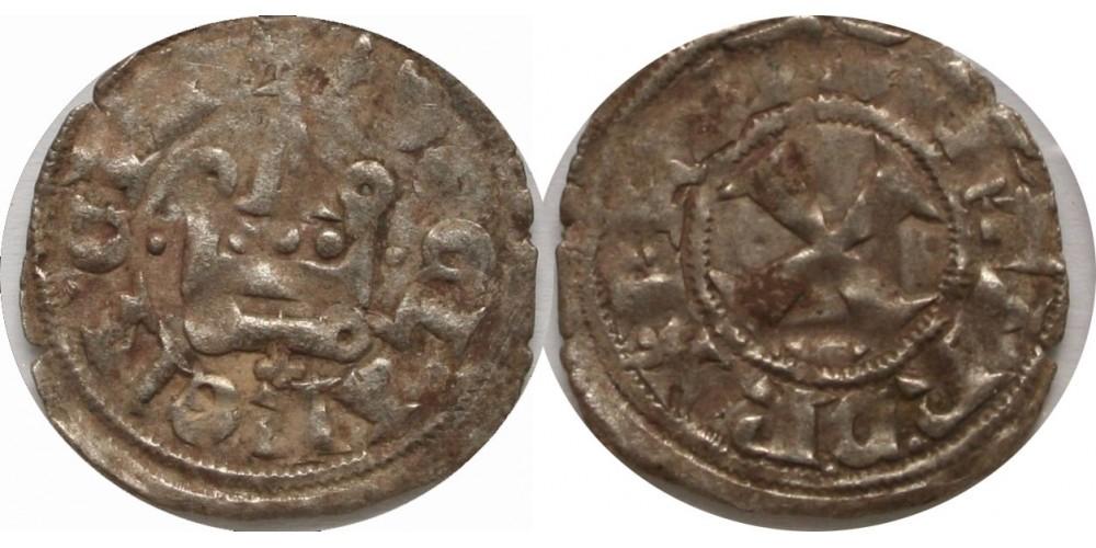 Keresztesek Epirus Philippe de Tarente 1294-1313 denár