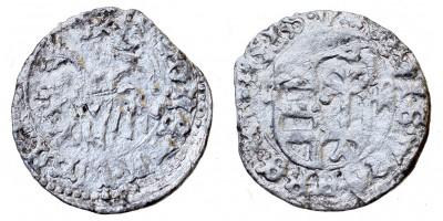 I. Ulászló 1440-44 denár ÉH 475