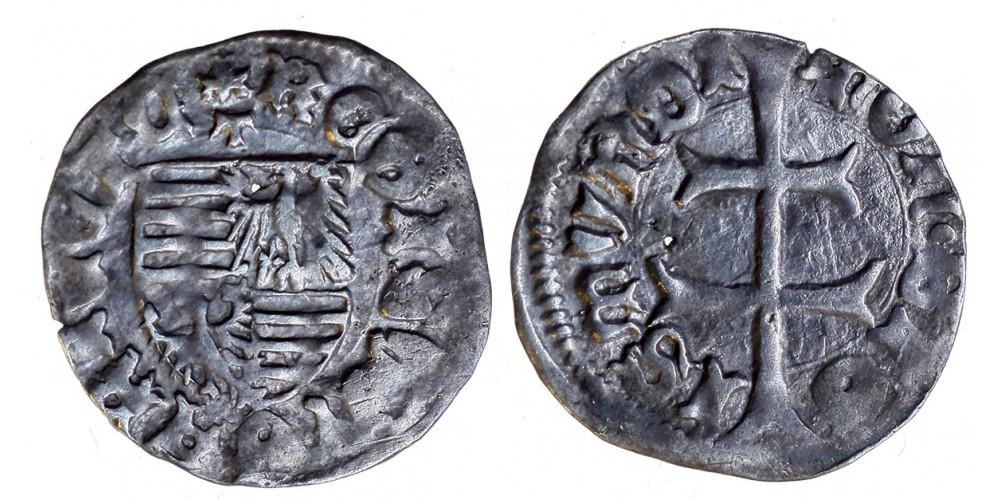 Zsigmond 1387-1437 denár ÉH 449