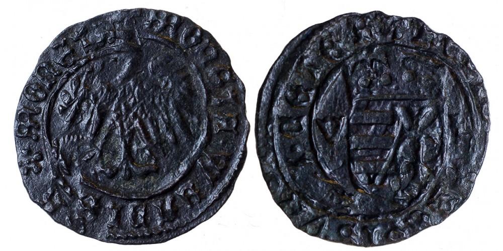 I. Ulászló 1440-44 denár ÉH 470