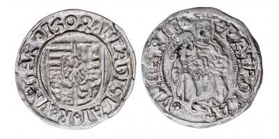 II. Ulászló denár 1504 vjn. ÉH 646 R!
