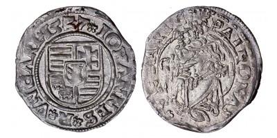 Szapolyai János denár 1527 C-M ÉH 699