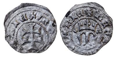 Mária 1382-87/95 denár ÉH 442