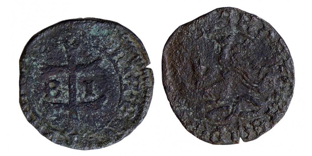 Hunyadi János 1446-53 denár ÉH 487