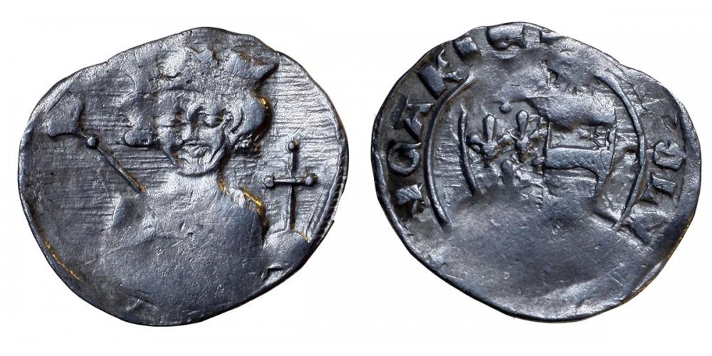 Károly Róbert 1307-42 denár ÉH 379