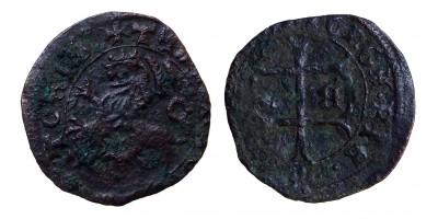 Hunyadi János 1446-53 denár ÉH 486