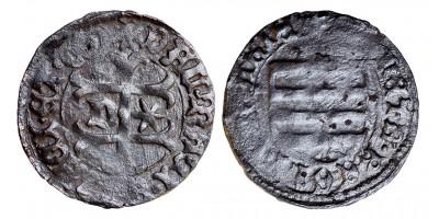 Interregnum 1444-46 denár ÉH 480